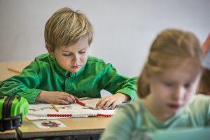 Sfeerfoto gemaakt in of rondom basisschool De Boemerang in Tilburg.